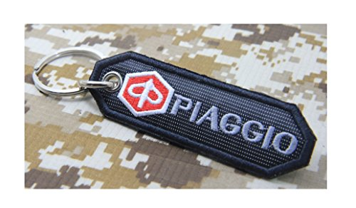 vespa-piaggio-embroidered-patch-keychain-key-ring-motorcycle-racing-biker