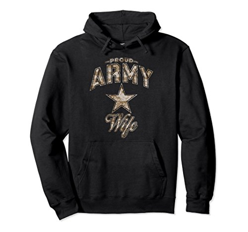 Army Wife Hoodie for Women (Camo)