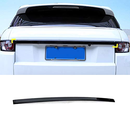 Black Rear Door Trunk Lid Cover Trim for Land Rover Range Rover Evoque (12-16)