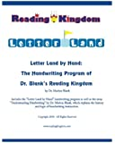 Letter Land by Hand: The Handwriting Program of The Reading Kingdom