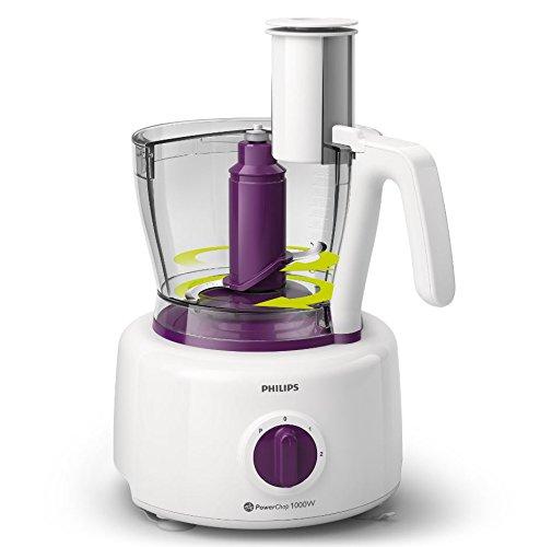 AMS 3,4 L, P/úrpura, Blanco, Giratorio, 2,2 L, 1,2 m, Alpha-Methylstyrene Philips Viva Collection HR7751//00 Robot de cocina Plastic, ABS sint/éticos