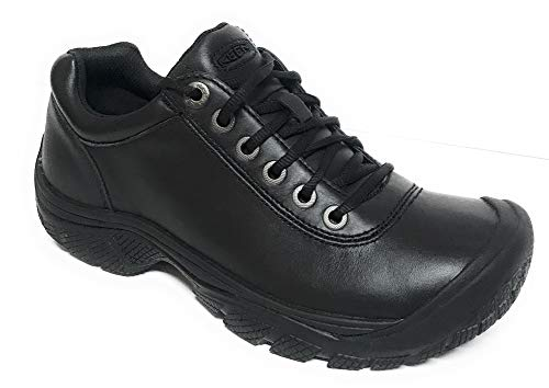 - KEEN Utility - Men's PTC Dress Oxford (Soft Toe) Work Shoes, Black, 10.5