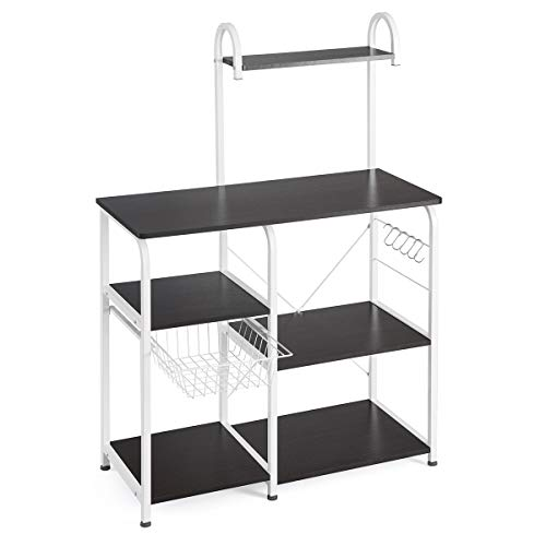 Mr IRONSTONE Kitchen Baker's Rack Utility Storage Shelf 35.5