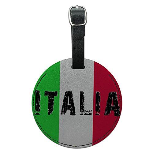 Italia Italian Leather Luggage Suitcase