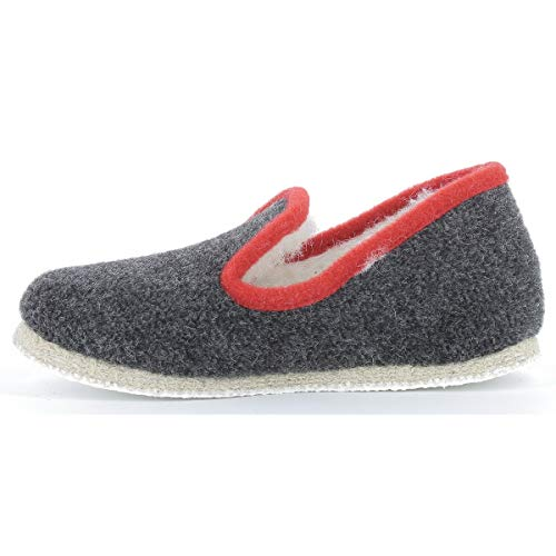 Anthracite Calmont Rondinaud Chaussons Bas Mixte Adulte HXpTwq