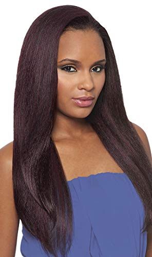 DOMINICAN BLOWOUT STRAIGHT BUNDLE HAIR (1B Off Black) - Outre Batik Quick Weave Synthetic Half Wig