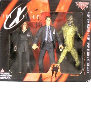 McFarlane Toys The X-Files Mulder, Scully & Attack for sale  Delivered anywhere in USA