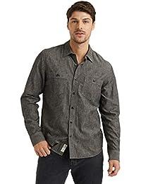 Men's Long Sleeve Button Up Two Pocket Jaybird Workwear Shirt