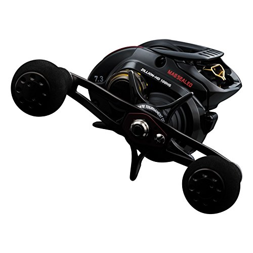 Daiwa ZLNHD100HS Test High Speed Baitcasting Fishing Reel, 14-16 lb, Black, Right Review