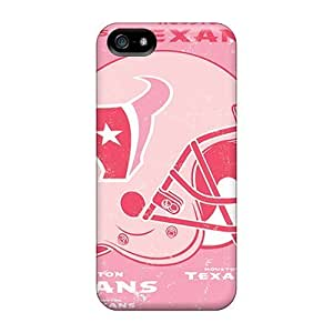 Awesome LFL2493mkLf Elaney Defender Tpu Hard Case Cover For Iphone 5/5s- Houston Texans