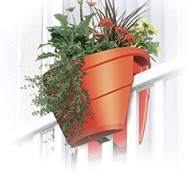 39 cm plastique auto arrosage JARDINIERE rectangulaire Fleur Plant Pots