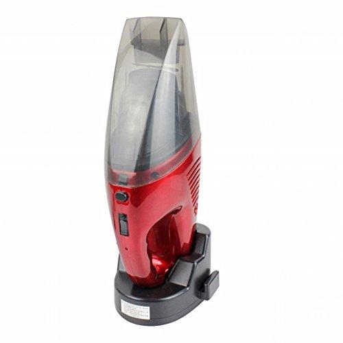 STTS Aspirador Recargable de Mano Ultra Silencioso Aspirador Inalámbrico de Uso Doméstico Vacío de Doble Uso,Rojo