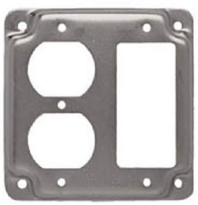 Raco #915C 4SQ GFI & DPLX Cover by ()