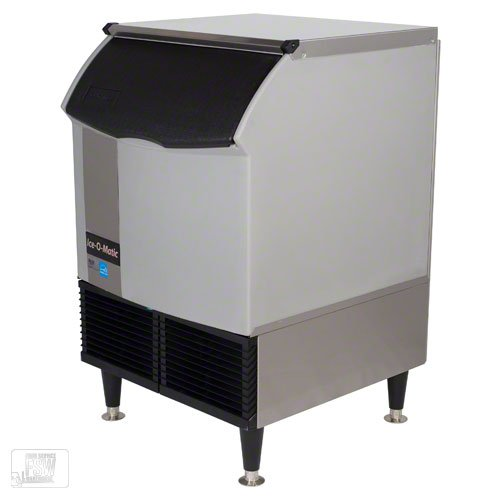 New Ice-O-Matic 238lb/24 Commercial Half Cube Ice Maker Machine Undercounter Air Cooled by Ice-O-Matic