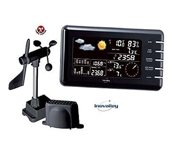 649097799 Estación meteorológica náutica, Estación meteorológica digital profesional:  Amazon.es: Jardín