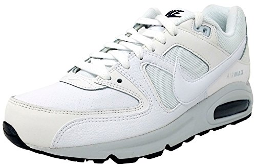 Nike Air Max Command Prm, Zapatillas de Running para Hombre Blanco (White/white/pure Platinum/armory Navy)