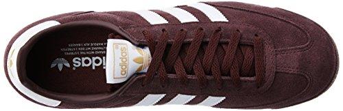 adidas Herren Dragon Low-Top Rojo (Rojnoc / Ftwbla / Negbas)