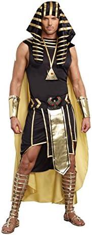 414GKg69ElL. AC  - Dreamgirl Men's King of Egypt King Tut Costume