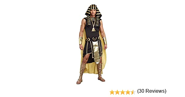 Plus Size King of Egypt Fancy dress costume: Amazon.es: Juguetes y ...