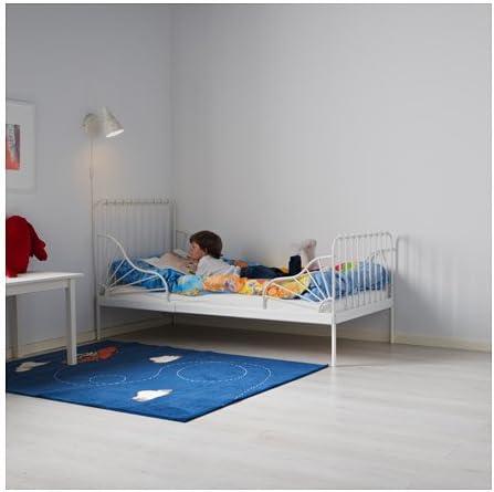 Ikea 22386.81420.64 Ext - Somier de láminas con somier, Color Blanco