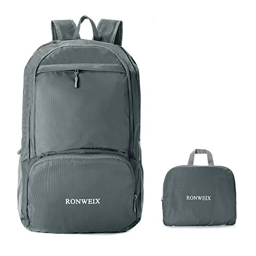Ronweix 35L Lightweight Packable Durable Travel Hiking Backpack
