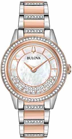 Bulova Women's Japanese Quartz Dress Watch (Model: 98L246)