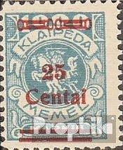 Prophila Collection Memelgebiet 221 mit Falz 1923 Aushilfsausgabe (Briefmarken für Sammler)