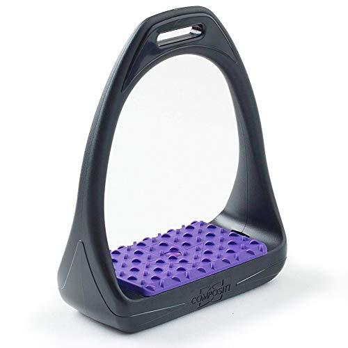 Compositi Reflex 3d Swivel Acción Amplia Track los Estribos, Púrpura
