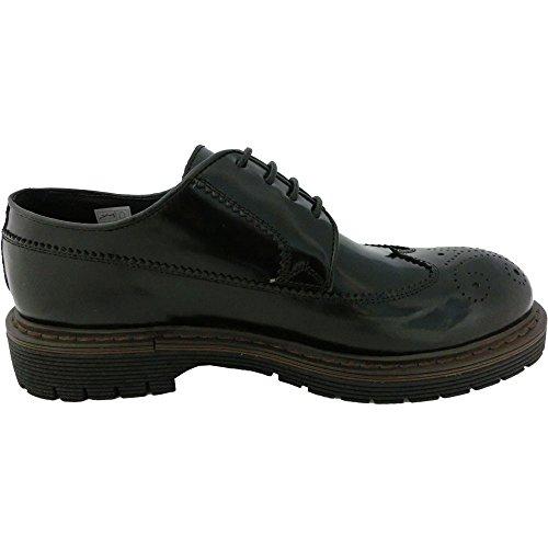 Exton , Herren Sneaker schwarz schwarz 44 EU