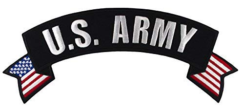 U.S. Army Rocker Large Embroidered Jacket Patch 11
