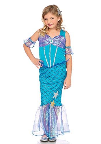 Leg Avenue LO49109 Kostüme, Unisex-Kinder, blue, M