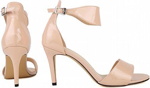 Salabobo - Zapatos de tacón  mujer Beige