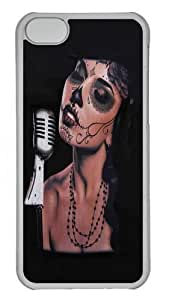 iPhone 5C Case and Cover - Art 5 PC case Cover for iPhone 5C Transparent