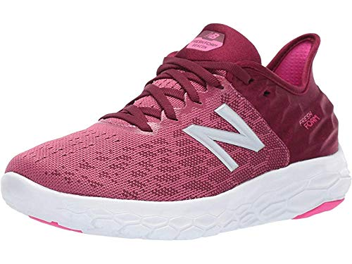 New Balance Women's Beacon V2 Fresh Foam Running Shoe, Dragon Fruit/Sedona, 7.5 W US