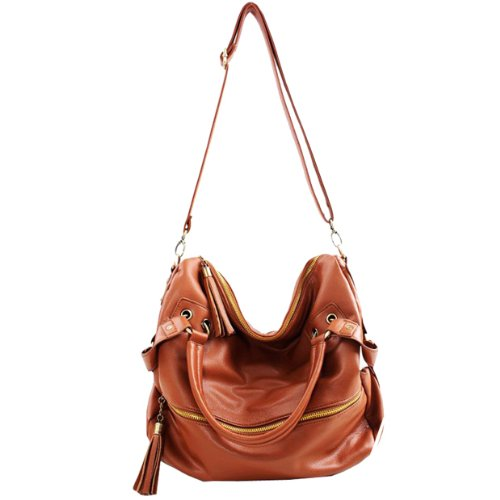 Amazon.com : THG Brown Fashion Lady Women Young Girl Casual ...