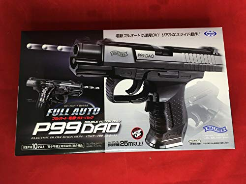AirSoft Walther P99 DAO Japan Tokyo Marui No.2 Full auto Electric Blow Back Gun