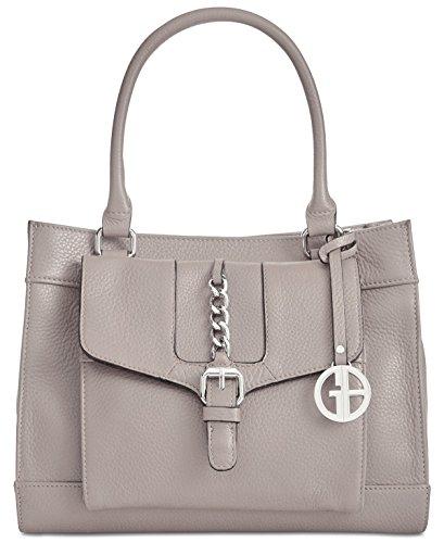 Giani Bernini Pebble Leather Small Satchel (Grey) from Giani Bernini