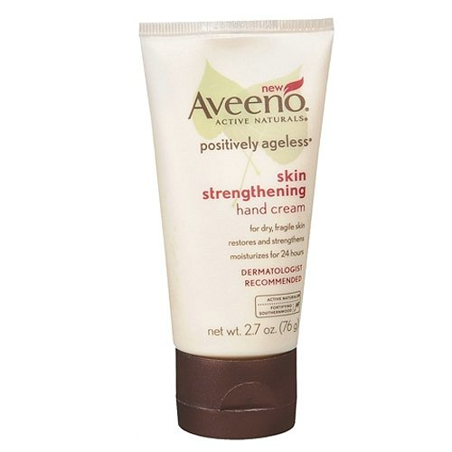 Ab Aveeno Active Naturals Positively Ageless Skin Strengthening Hand Cream 2.7 Oz (76 G)