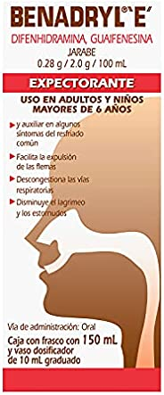 BENADRYL E Expectorante Jarabe 150 ml