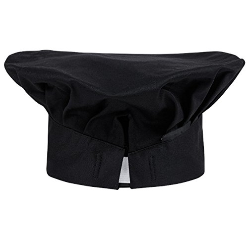 Hyzrz Chef Hat Adult Adjustable Elastic Baker Kitchen Cooking Chef ... 2d23d59fecae