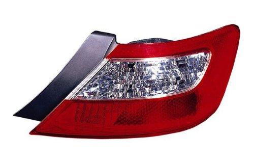 Tyc Tail Honda Civic Coupe - HONDA CIVIC (COUPE) TAIL LIGHT RIGHT (PASSENGER SIDE) 2006-2008