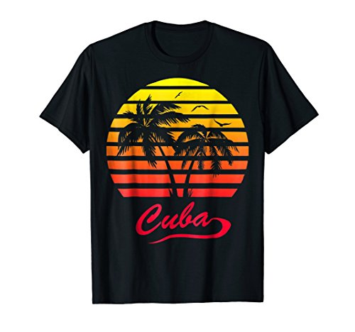 Cuba 80s Sunset T-Shirt - 5 colors