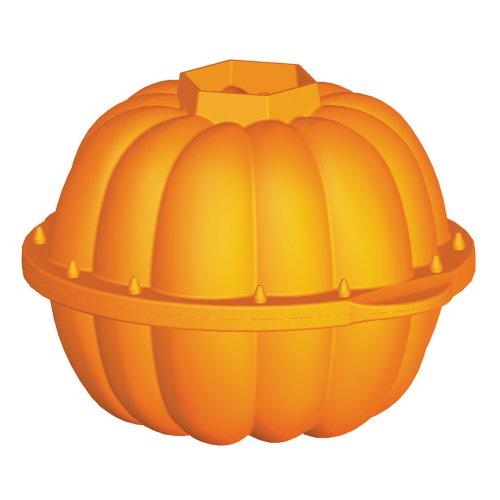 Lekue Pumpkin 3D Mold, Orange (Halloween Pull Apart Cupcakes)