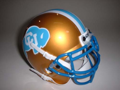 Schutt 1982 Colorado Buffaloes Throwback Mini Helmet