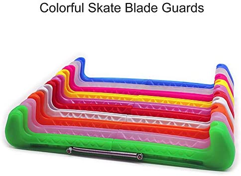 Oriolus Figure Skate Guards Adjustable Ice Skate Blade Covers Guard Protector for Younth Men Women Boys Girls