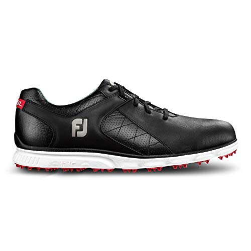 FootJoy Men's Pro/SL-Previous Season Style Golf Shoes Black 12 M US ()