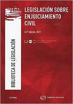 Legislación sobre Enjuiciamiento Civil (Papel + e-book): 12 (Biblioteca de Legislación)