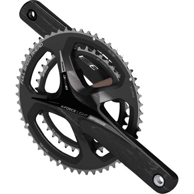 FSA K-Force Light 386 EVO Carbon Crankset Black/Gray Logo, 175mm 34/50