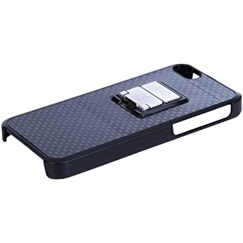 Intoxicase TY1005IC 5 Carrying Case with Collapsible Bottle Opener and Free App for iPhone 5 - 1 Pack - Retail Packaging - Black