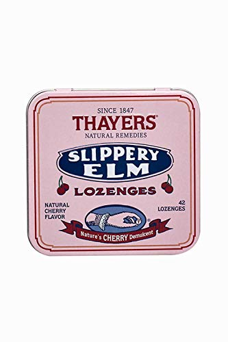 - Thayers, Lozenges Slipper Elm Cherry, 42 Count